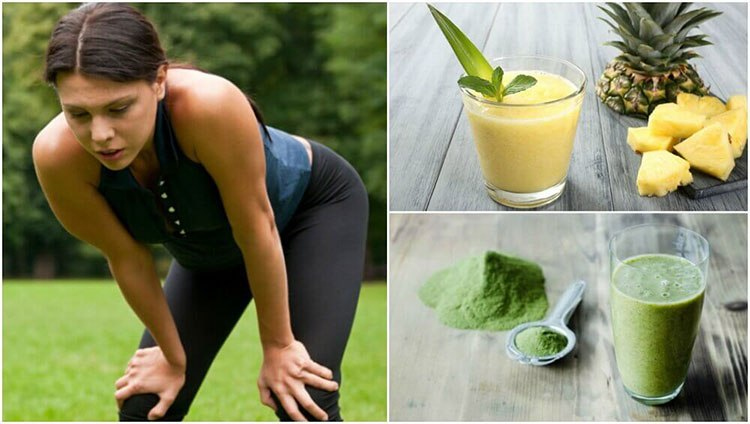 Smoothies to Overcome Fatigue Muscle