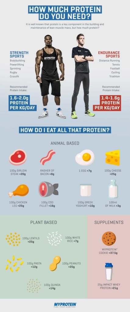 How Much Protein to Take Per Day
