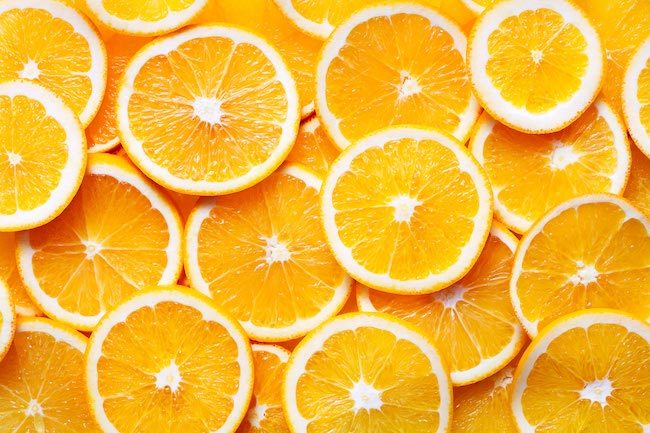 does orange have high carbs